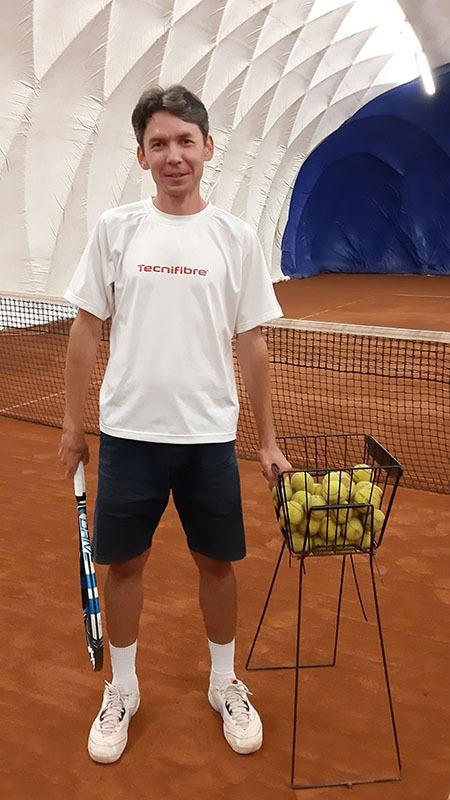 tenisový trenér Timur Davlikamov